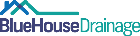 Blue House Drainage Logo
